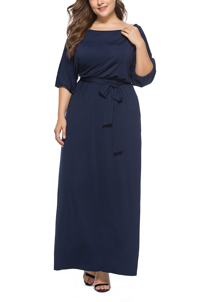 New style dress of European womens plus size clothes 4xl 5xl largest retro palace in spring and summe