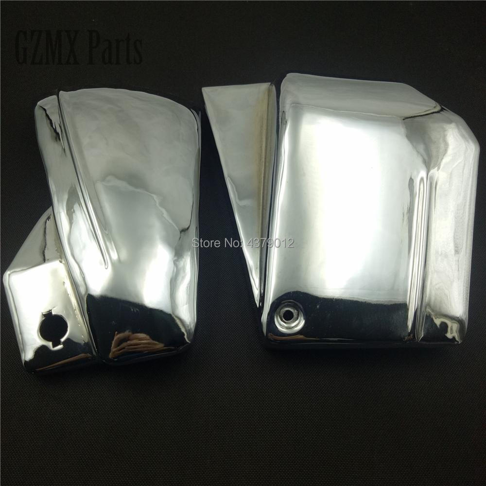 For Yamaha Dragstar V Star 650 XVS 650 650A Drag Star 650 XVS650 XVS650A Motorbike Battery Side Fairing Cover Guard Protect-in Covers & Ornamental Mouldings from Automobiles & Motorcycles    2