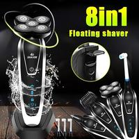 2019 NEW Multifunctional 5D Floating Electric Wet/Dry Rechargable Washable Razor Shaver Shaving Beard Machine