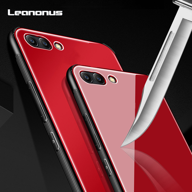 new arrival 88d03 83d87 US $4.1 |Leanonus Rear Glass Case For Huawei Honor V10 V 10 Anti Scratch  Case Tempered Glass Back Cover For Honor V10 Cover Slim Casing-in Fitted ...
