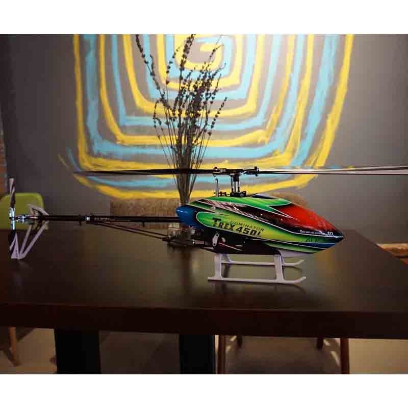 3D RC Helicopter AlIGN T REX 450L 2 4GHz 6CH Almost RTF RC Helicopter With Microbeast