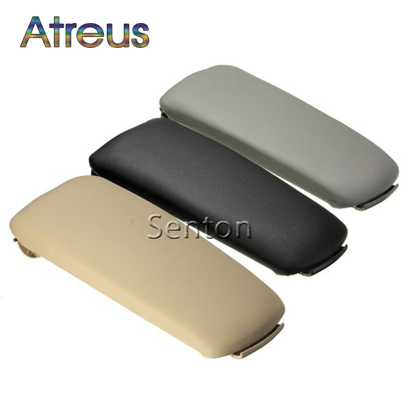 Atreus 1pcs Car Center Console Armrest Cover For Audi A4 B6 B7 Accessories For Audi A4 2002 2003 2004 2005 2006 2007 3 Colors fit for audi a4 b6 b7 armrest arm rest center console storage box lid cover car interior styling 2002 2003 2004 2005 2006 2007