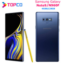 "Samsung Galaxy Note9 N960F Hinweis 9 Original Entsperrt LTE Handy Exynos Octa Core 6,4 ""Dual 12MP RAM 6GB ROM 128GB NFC(China)"