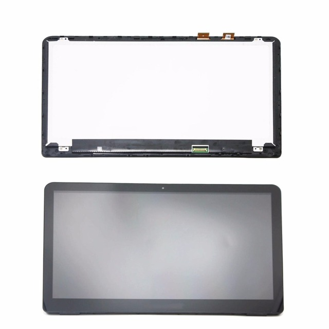 US $123 5 5% OFF|New Arrival 15 6'' M6 w101dx M6 w102dx LCD Display Touch  Screen Replacement Assembly for HP Envy X360 M6 W Series with Frame-in