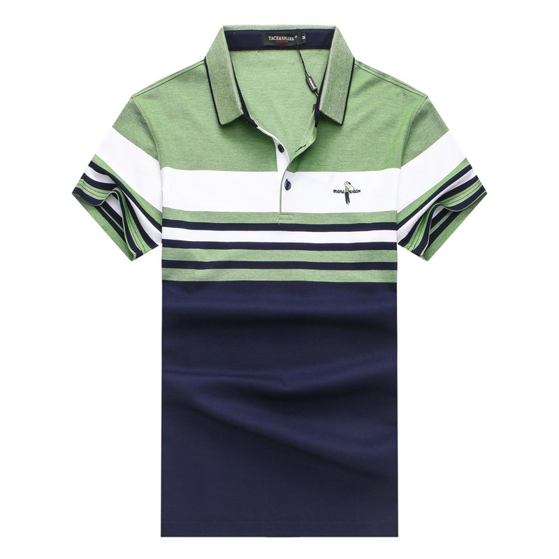 New lable Top quality golf shirt men brand clothing short sleeve luxury Italy shirt ASIA ...