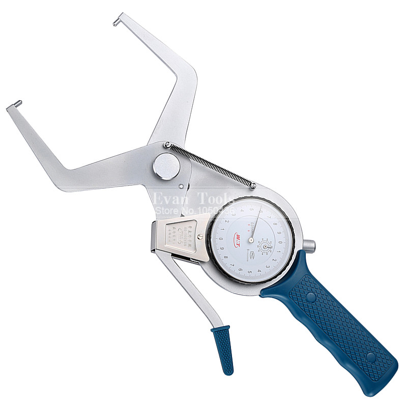 ФОТО Metric Outside Dial Caliper Gauges 80-100*55mm/0.01mm Carbide Points Shockproof Micrometer Measuring Tools