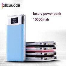 Tollcuudda Power Bank 10000 мАч портативный внешний аккумулятор портативное зарядное устройство со светодиодным индикатором для iPhone 5 6S 7 Plus Ми телефона