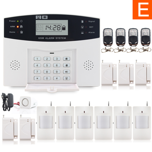 metal remote control voice prompt wireless door sensor home