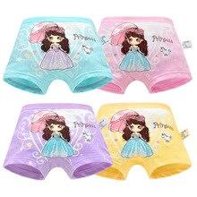 hot deal buy girls panties toddler underwear baby panties cartoon princess cotton briefs lucky child girls underwear infant panty kids boxer