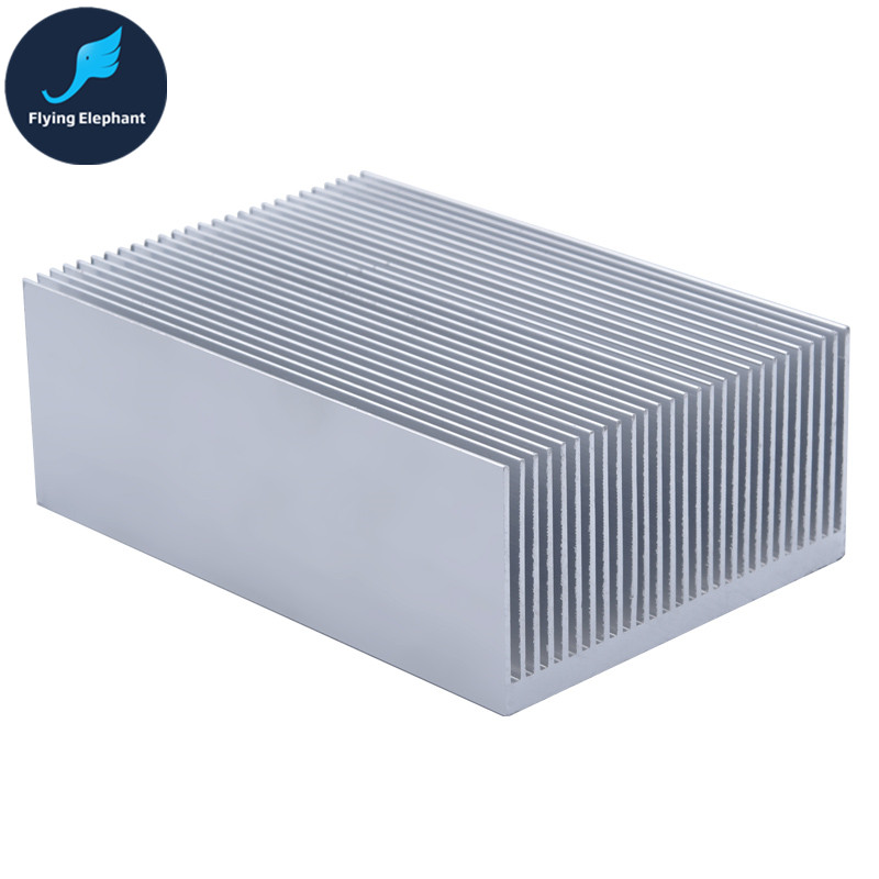 Electronic Radiator Aluminum Dense Teeth Heatsink Extruded Heat Sink Computer Water Cooling System 100/130/150/200/300x69x36MM