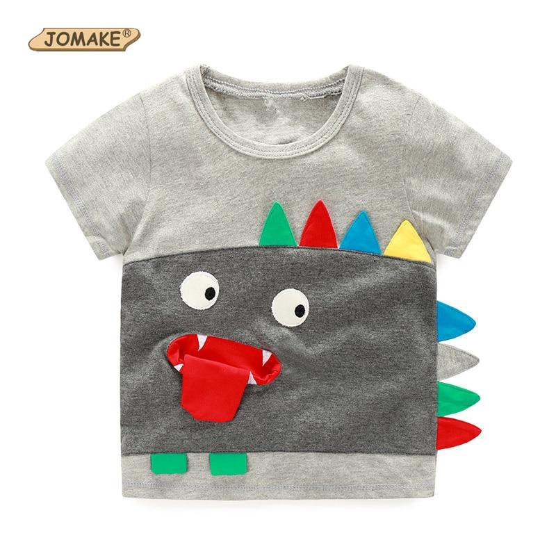 Футболки на мальчиков и детей с гримасами летние верх для детей футболки симпатичные футболки для мальчиков комплекты детской одежды рисун...