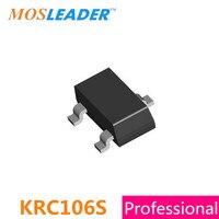 SMD KRC106S SOT23 1000 PZ 3000 PZ KRC106 NF PNP 0.1A 100mA 50 V Originale Datasheet all'interno di Alta qualità