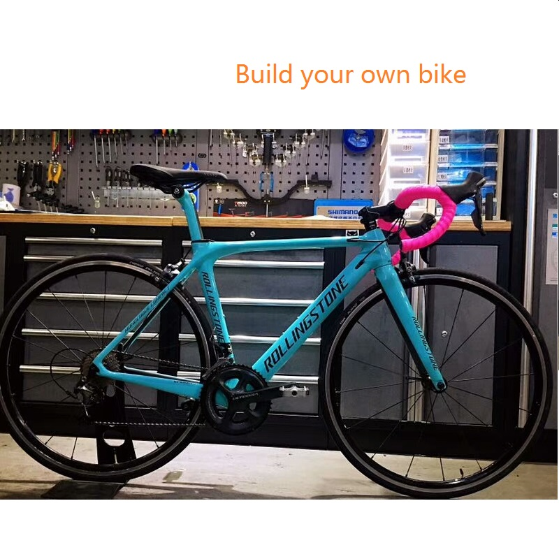 Rolling Stone Road Bicycle Bike Customize Build DIY Bike Per Your Budget 45cm 47cm 50cm With Carbon Wheel Or Aluminum Wheel