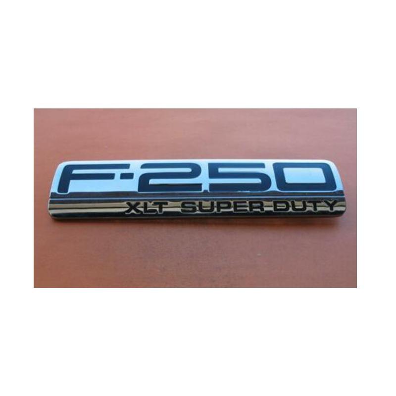 Plástico abs F-250 f250 xlt F-250XLT f250xlt super dever etiqueta do carro emblema emblema emblema emblema emblema emblema
