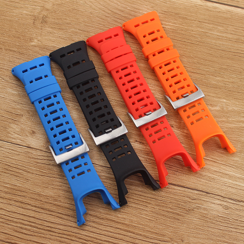Watch Accessories Silicone Rubber Strap For Suunto ambit 1 2 2R 2 S 3pico Watch Band Men's Watch Band