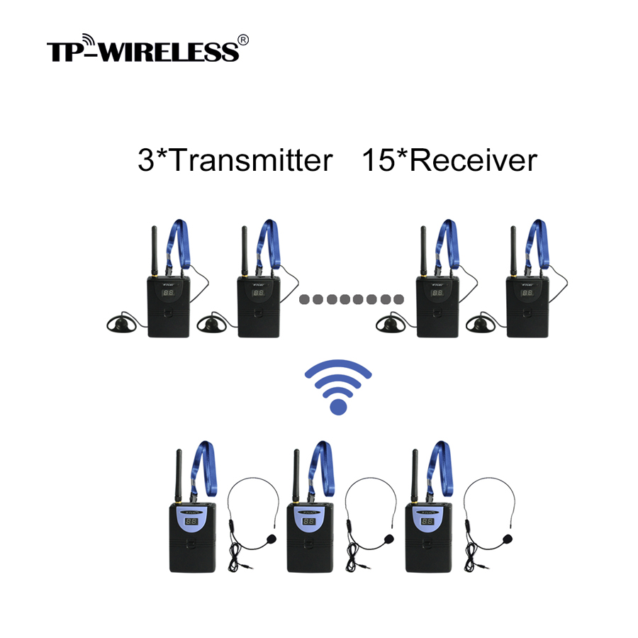 TP Wireless Custom 2.4GHz Frequency Band Digital Wireless