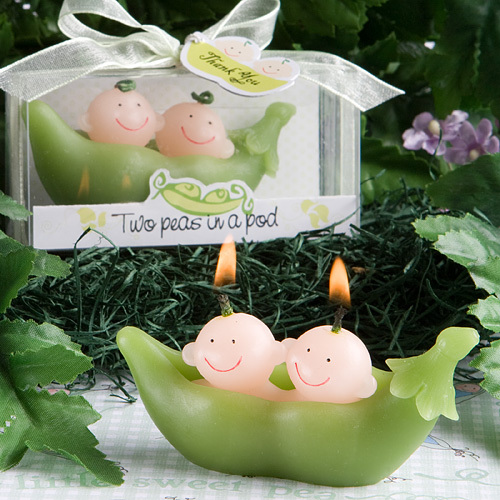 Baby Party Supplies Birthday Candle Smoke-Free Gemini Pea Candle wedding decoration Scented candles birthday candle