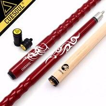 """Cuesoul Zeer Mooie Grip 58 """"21 Oz Maple Pool Cue Stick Met 13 Mm Cue Tips + Cue Jointed protector/Cue As Protector"""