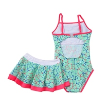 Girl Beach Swimwear Summer 2019 Kids Baby Swimsuit Swimming Clothes Soft Triangular Sleeveless Bathing Suit for 1-15T Child