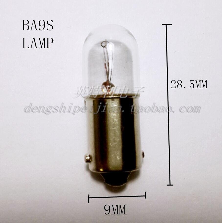 Ampoule 36v 56ma 2w ba9s 9x23mm Ampoule Lampe Ampoule 36 volts 56ma 2 watts NEUF