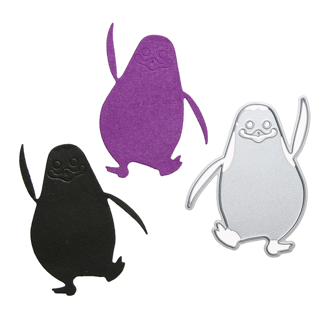 Aliexpress  Buy Penguin Craft Cutting Die Stencils DIY - penguin template