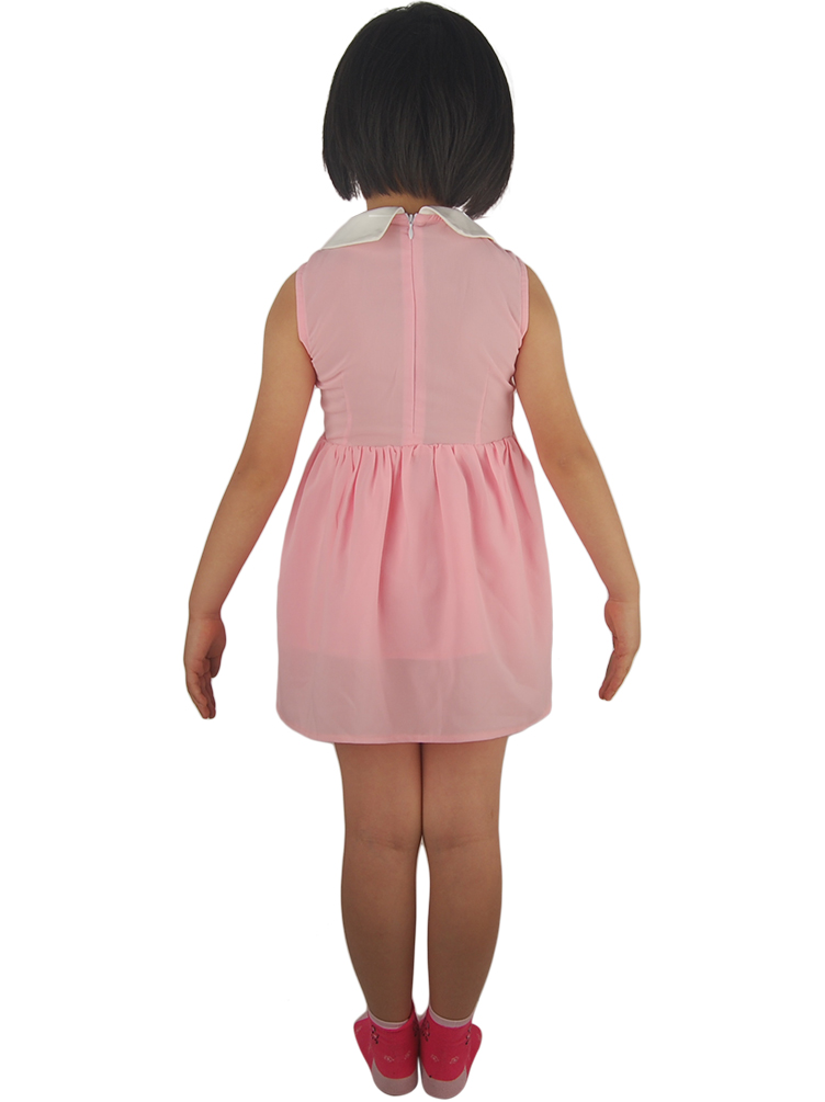Kids Girls Stranger Things Eleven El Dress Halloween Cosplay Costume Christmas Xmas Gift Comic-co Fancy Anime Prom Ball Dress Spare No Cost At Any Cost Girls Costumes
