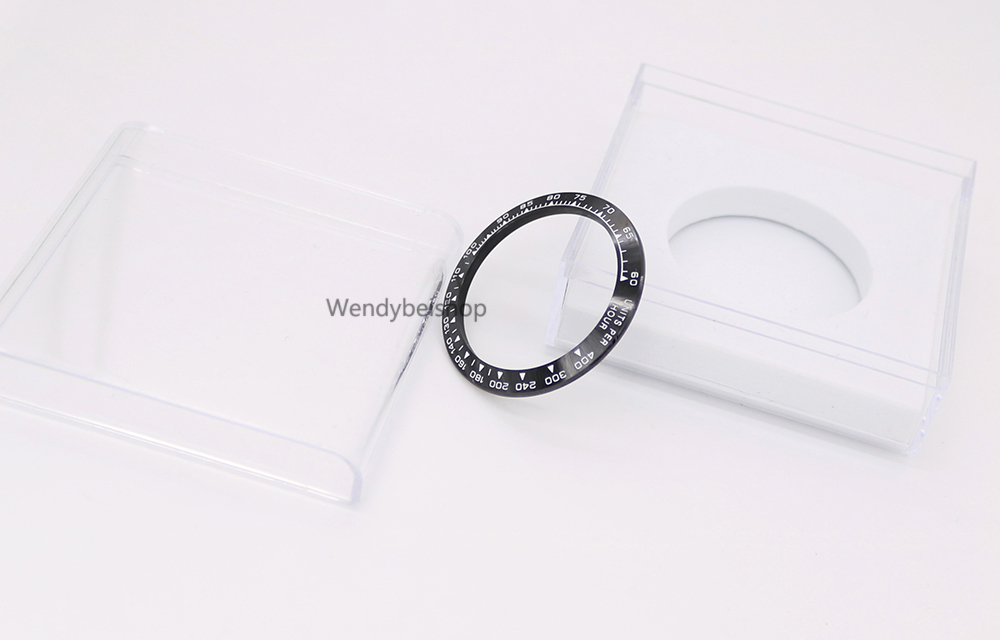 Wholesale High Quality Ceramic Black with White Writing Watch Bezel for 116500 116520