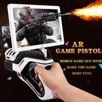 AR Game AR Pistol Portable Bluetooth AR Gun Shooting Game Smartphones Bluetooth Control Toy Outdoor Fun