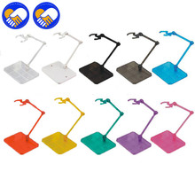 1 Pc Action Figure 10 Colors Base Suitable Display Stand Holder Bracket for 1/144 HG/RG Gundam/Anime Game ACG Toys