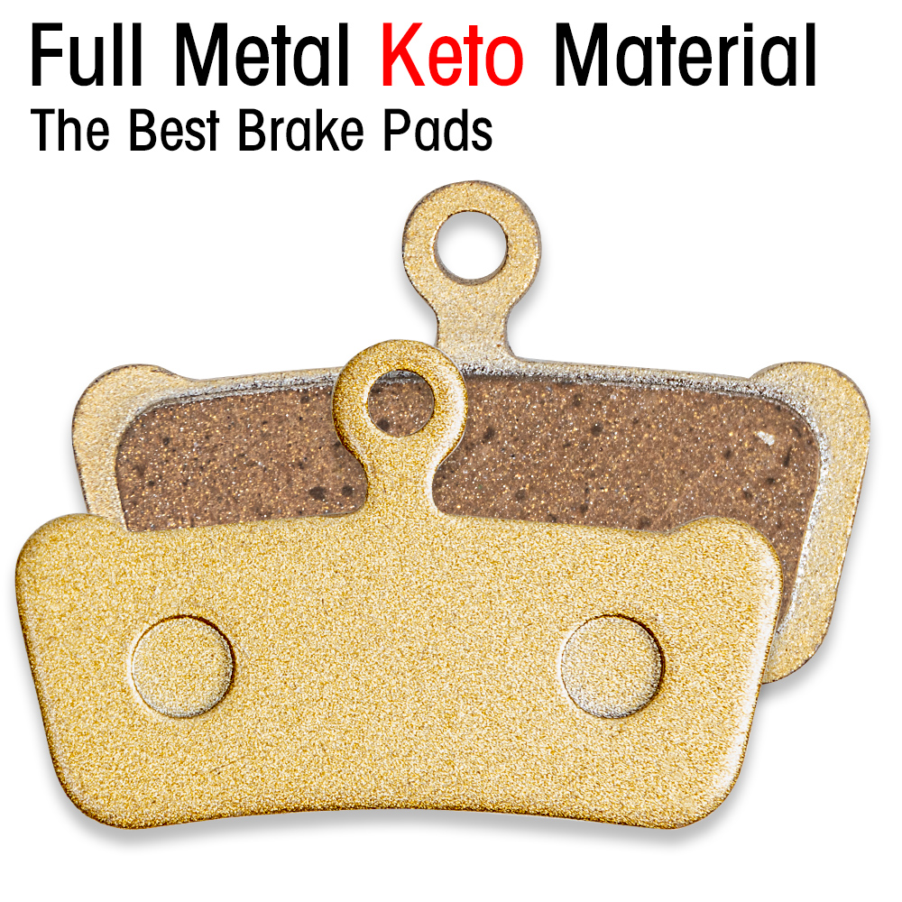 Full Metal Keto material Electric Scooter Brake Pads Rear Wheel Friction Plates Oil Disk Brake Pads pad