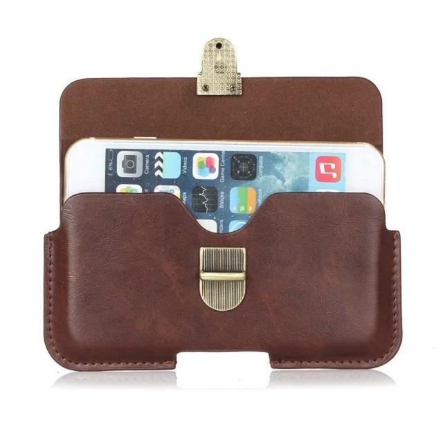 PU Leather Belt Clip Pouch Cover Case for Bylynd F5/MX5/P8000/P9000