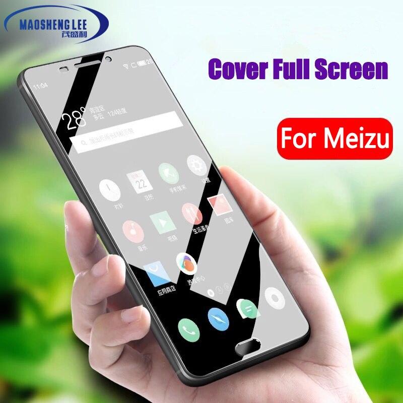 2.5D Full Tempered Glass For Meizu M3s Mini M5 M5s 9H Anti Blu-ray Screen Protector For Meizu M5S M3/M5 Note Glass Film