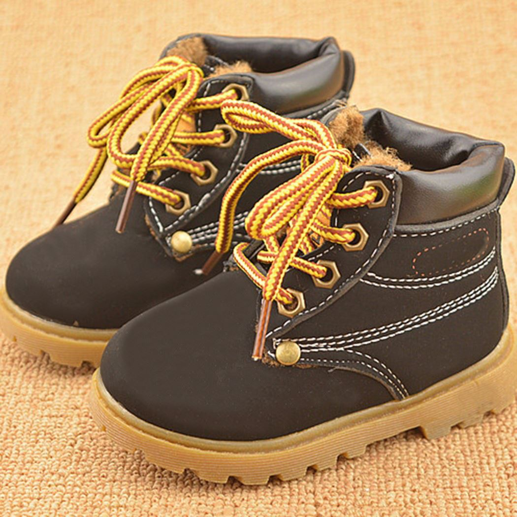 Hot-Sale-Childrens-Snow-Boots-Warm-Leather-Botas-Motorcycle-Boys-Girls-Kids-Plush-Thick-Cotton-Shoes-Waterproof-Ankle-Boot-Shoes-1