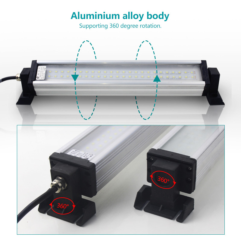 Industrial led light explosion proof lamp cnc machine lights 8W 10W 40W for garage warehouse workshop sewing machine lighting