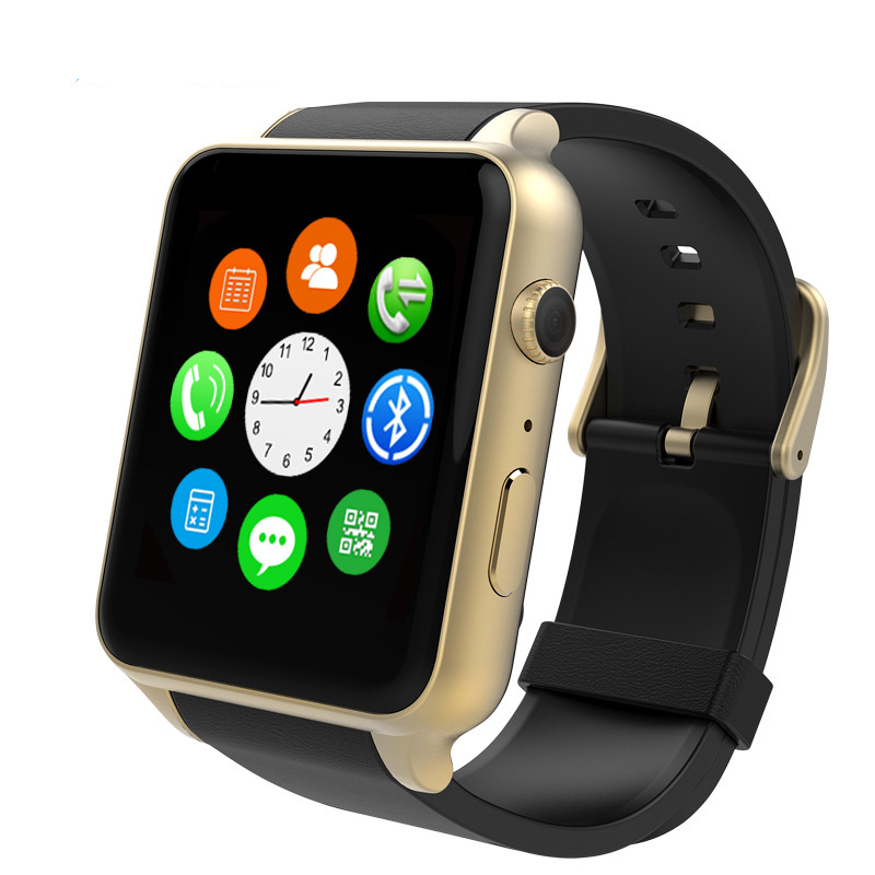 Cartão SIM GSM GT88 Esportes Relógio Inteligente com Monitor de Freqüência Cardíaca Do Bluetooth NFC Câmera Smartwatch para Android iOS