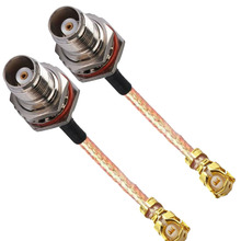 10 Uds IPX U FL IPEX a TNC femenino O anillo impermeable conector rf pigtail coaxial RG178 Cable 10cm 15cm 20cm 30cm 50cm