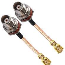 10 stuks IPX U. FL IPEX naar TNC Vrouwelijke O ring Waterdichte Connector RF Coaxiale Pigtail RG178 Kabel 10 cm 15 cm 20 cm 30 cm 50 cm
