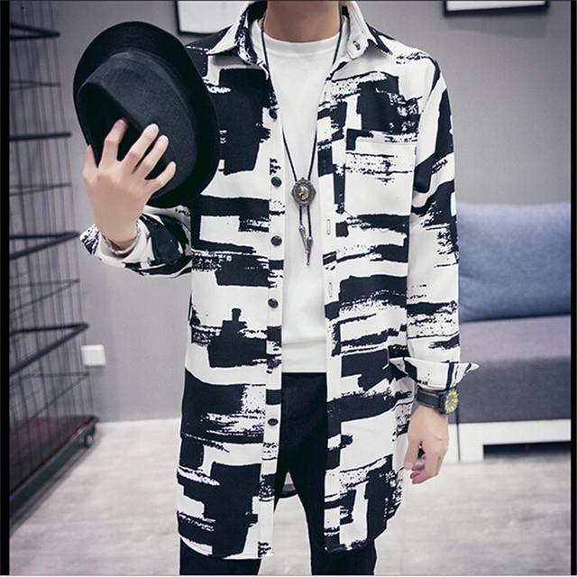 Primavera Outono jaqueta-Jaqueta Moda mens Hip Hop Longo Casual Streetwear Dos Homens Blusão Homens do Revestimento de Bombardeiro