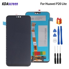 Для HUAWEI P20 Lite ЖК-дисплей сенсорный экран для HUAWEI P20 Lite ANE-LX1 ANE-LX3 Nova 3E ЖК-дисплей с рамкой