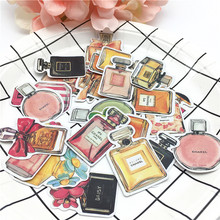 24pcs Korean Daisylands Stikers Perfume Bottle Decorative Stickers for Notebook Planner Scrapbooking, DIY Paper Sticker(China)