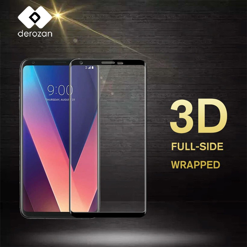 Derozan Screen Protectors For LG V30 Glass V30 Plus For Huawei P10 P20 Lite Mate 9 10 Pro Nokia 6 5 3 8 Tempered Glass 3D FilmDerozan Screen Protectors For LG V30 Glass V30 Plus For Huawei P10 P20 Lite Mate 9 10 Pro Nokia 6 5 3 8 Tempered Glass 3D Film