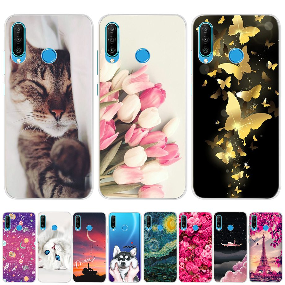 case for Huawei p30 <font><b>lite</b></font> pro Case Silicone tpu Phone Back Cover Soft case For Funda Huawei p30 pro p30lite p30pro <font><b>p</b></font> <font><b>30</b></font> <font><b>lite</b></font> Case image