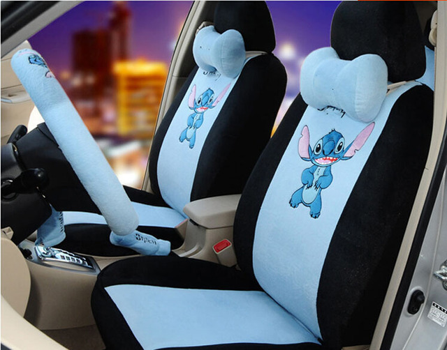 18pcs The New Cute Cartoon Car Seat Cover Seating In Summer Ideas Of Four Seasons