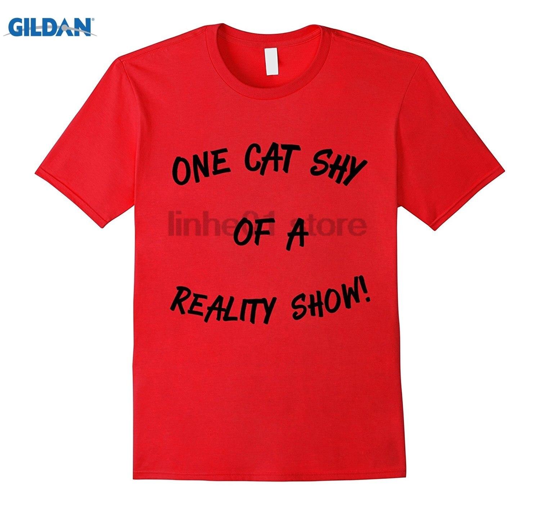 Возьмите одна кошка застенчивый реалити-шоу! Солнцезащитные очки женские футболки