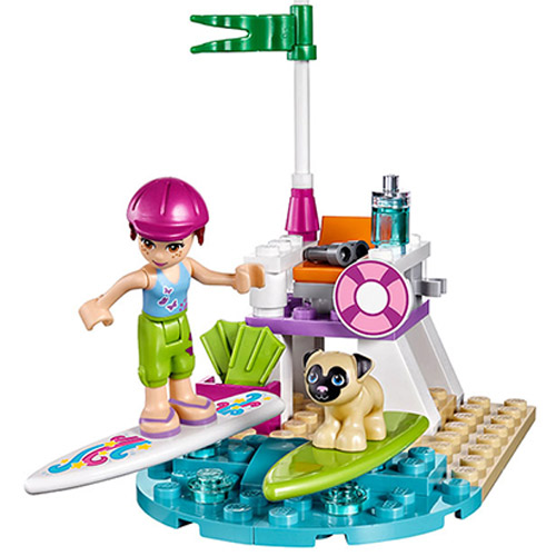 10603 Bela Freunde Serie Mia Der Strand Roller Lookout Modell Baustein Bricks Kompatibel Legoings Freunde