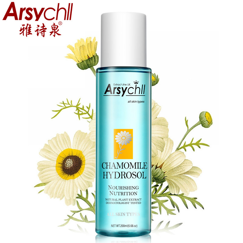 купить ARSYCHLL Chamomile Hydrosol Moisturizing Repairing Whitening Anti-Aging Hydrating Nourishing Smooth Beauty Skin Face Care Toners
