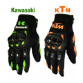 KTM Motorcycle bike gloves retro kawasaki Moto racing gloves Men's Motocross full finger gloves M/L/XL/XXL Wholesale and retail