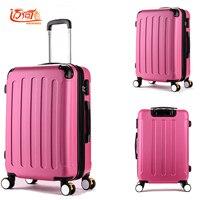 Дизайнер Камера девушки pc красная роза kinder koffer Водонепроницаемый Бизнес тележка сбоям Детский чемодан багаж женщина
