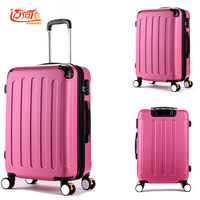 Designer luggage girls pc rose red kinder koffer waterproof business trolley crash proof children suitcase travel luggage woman