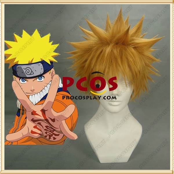 Naruto Uzumaki Cosplay Wig mp000412